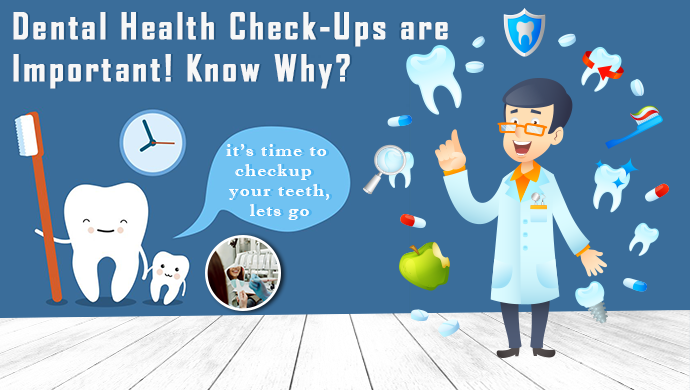 Why you should regularly go for dental health check-up?